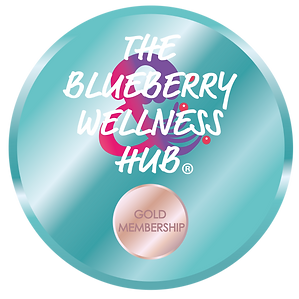 The Blueberry Wellness Hub Logo Gold.png