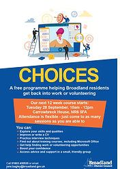 Free Unemployment programme from Broadland District Council