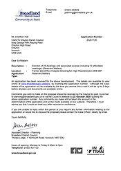 Planning Application: Former David Rice Hospital Drayton High Rd