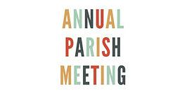Annual Parish Meeting 15th April 2021
