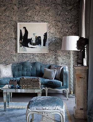 cool-gloomy-living-room-with-damask-wallpaper.jpg