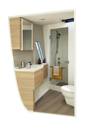Ensuite of the Master Cabin