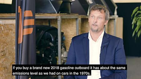 Andreas Blomdahl explains emissions