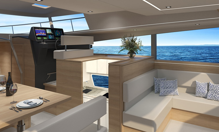 Standard Interior with lower galley