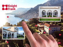 Explore luxury property interactively on your mobile