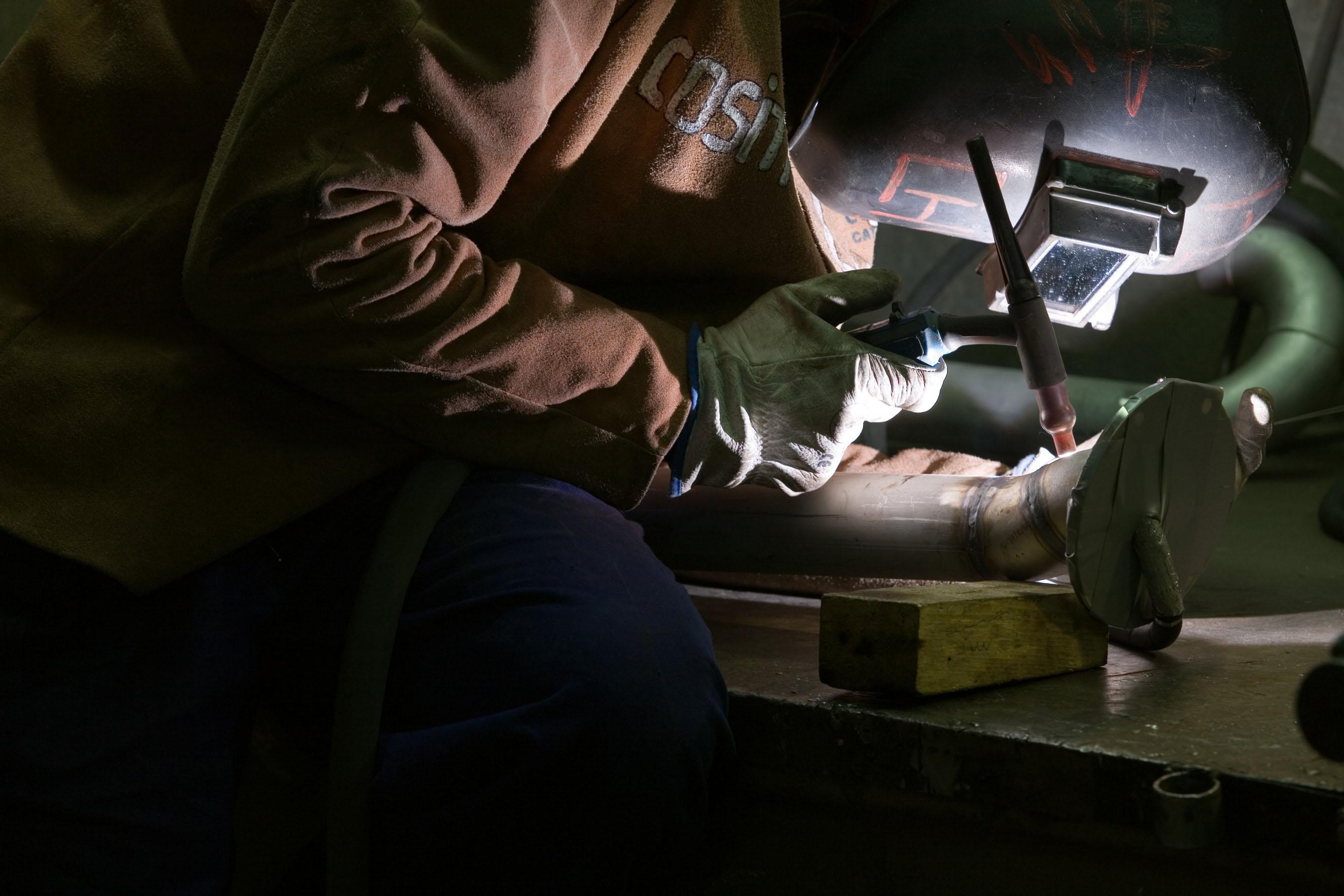 Metalwork at OQS expert subcontractors