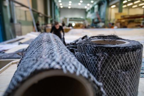 OQS utilise tous les matériaux et technologies disponibles, y compris la fibre de carbone