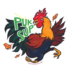 Original Sticker Design for Pukalani Superette