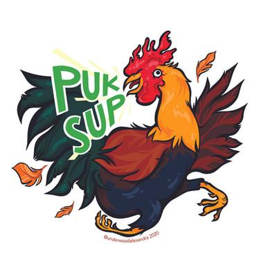 Original Sticker Design for Pukalani Superette