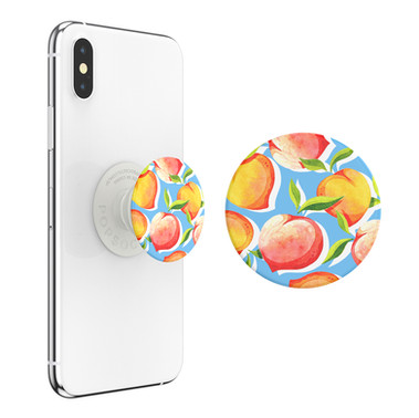 Original illustration for PopSockets Just Peachy  PopGrip