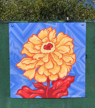 4' x 4' Mural in Emeryville, CA