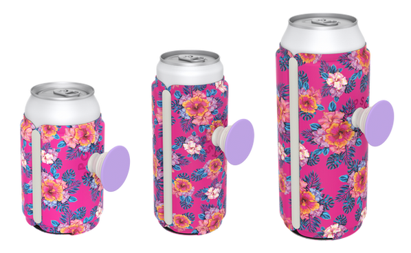 PopSockets Tropic Punch PopThrist - Orignal Pattern for Can, Skinny, and Tall PopThrist Sleeves