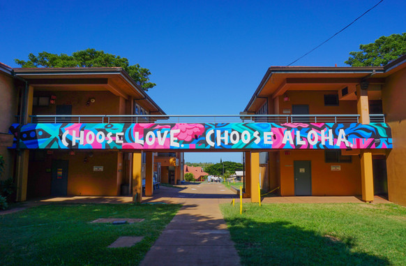Lokelani Intermediate School Kihei, Hawai'i 5' x 66'