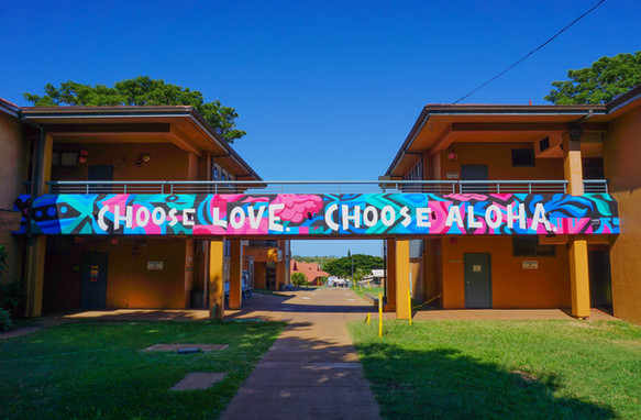 Lokelani Intermediate School Kihei, Hawai'i 5' x 66'