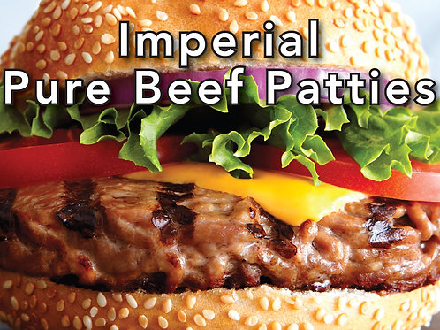 PURE BEEF PATTIES