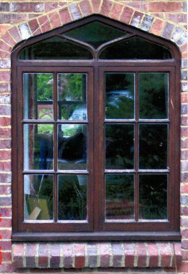 Bespoke arched window