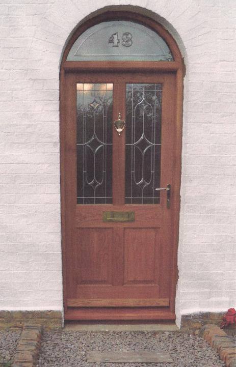 Stained Oak door