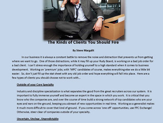 The Kinds of Clients You Should Fire