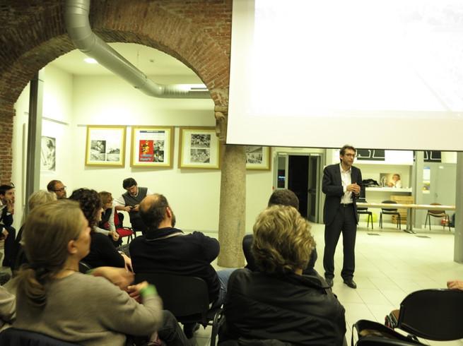 2017-Seminario sulla rigenerazione scali all'ex  Fornace sul Naviglio Pavese