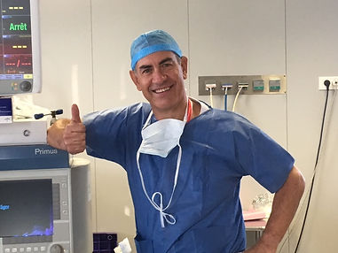 Doctor Stéphane Hervé, an Otolaryngology-head and neck surgery specialist