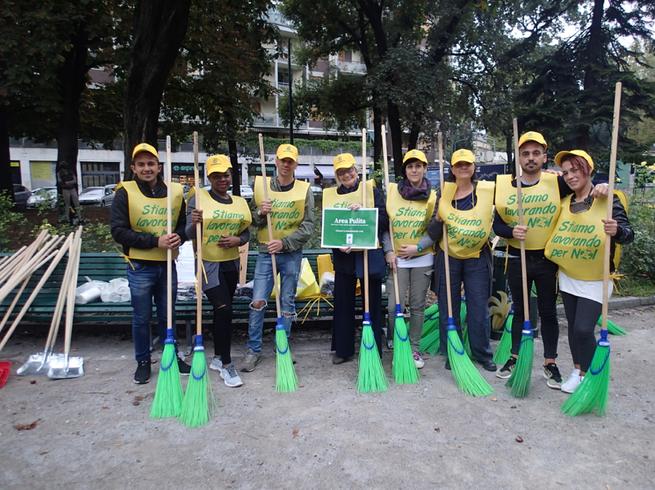 Campagna Puliamo il Mondo: pulizia del Parco Solari
