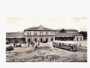 Stazione di Porta Genova e la ferrovia Milano Mortara Vigevano