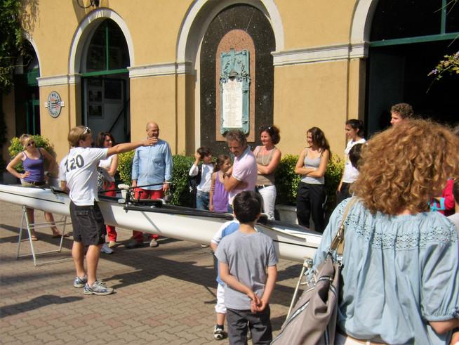 Genitori e ragazzi si ritrovano alla Canottieri Milano