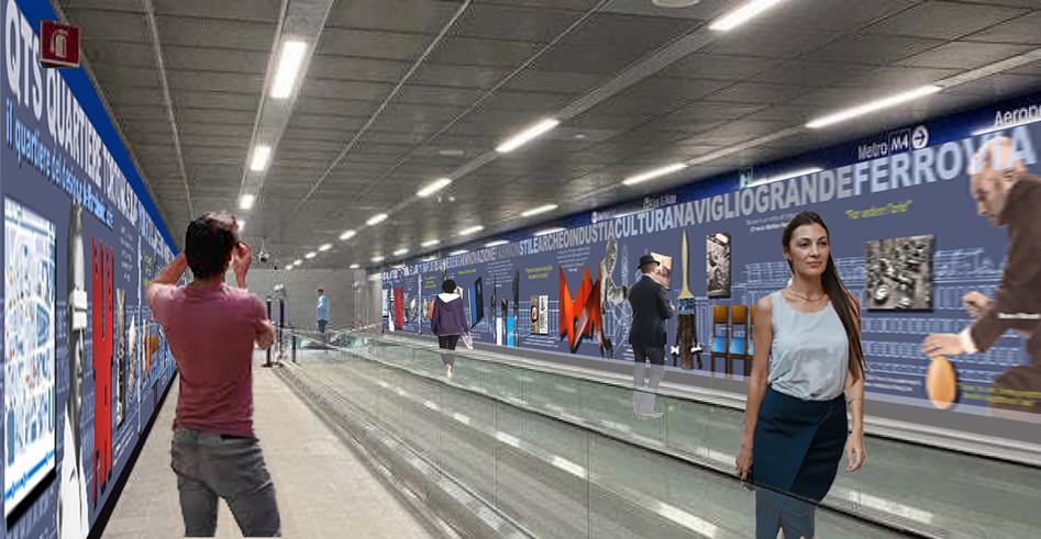 """proposta MuseoLab6 per la Manifestazione di interesse ARTE4  """"interventi di natura creativa e artistica della linea 4 della Metropolitana di Milano"""""""
