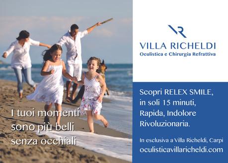 Campagna Affissione Villa Richeldi Carpi