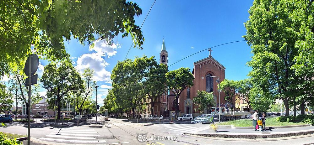 La chiesa di Santa Maria del Rosario (Foto-Rotocamera M.Anfuso)