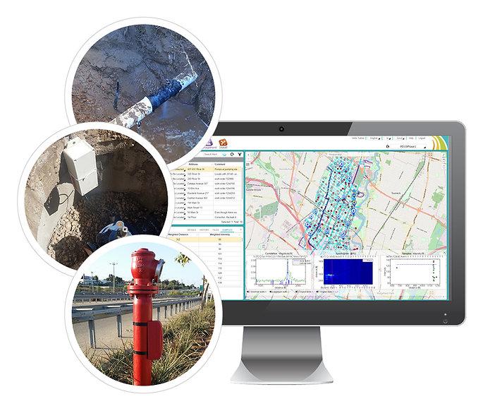 Sensori AQS Tecnologie per l'individuazione perdite ed il Pipe Condition Assessment.