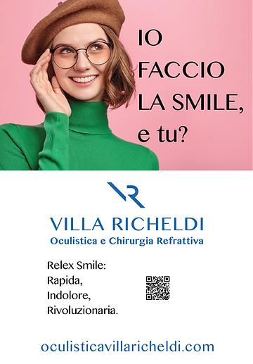 Progetto Campagna Affissioni Villa RIcheldi Carpi - Studio Logotipo e Web Site
