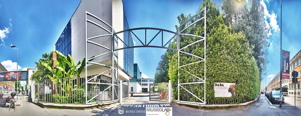 Superstudio:  uno spazio polifunzionale progettato per eventi di moda e design.