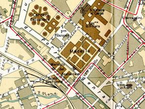 Cosa c'era prima del Parco Solari fino  agli anni '30 del '900?