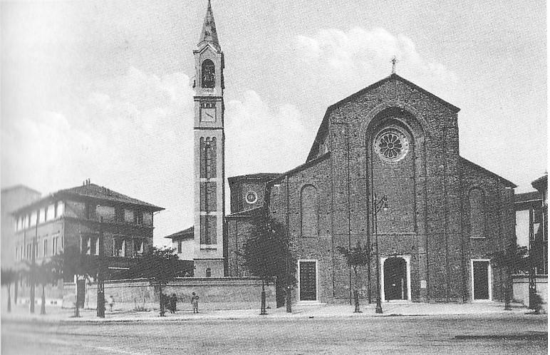Foto storica Parrocchia S. Maria del Rosario