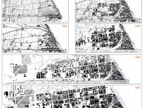 Evoluzione edilizia e morfologica  dell'area  Tortona,  Solari, Porta  Genova