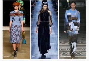Fashion trend 2017-2018. Cintura in vita.