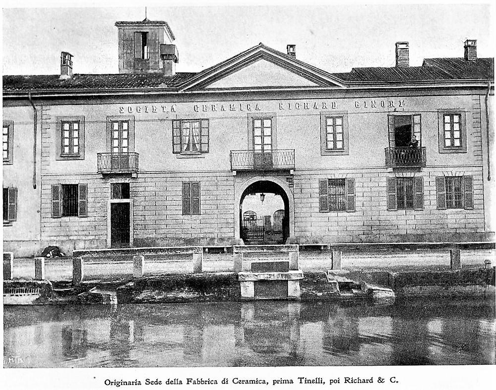 Originaria sede della Fabbrica Richard Ginori