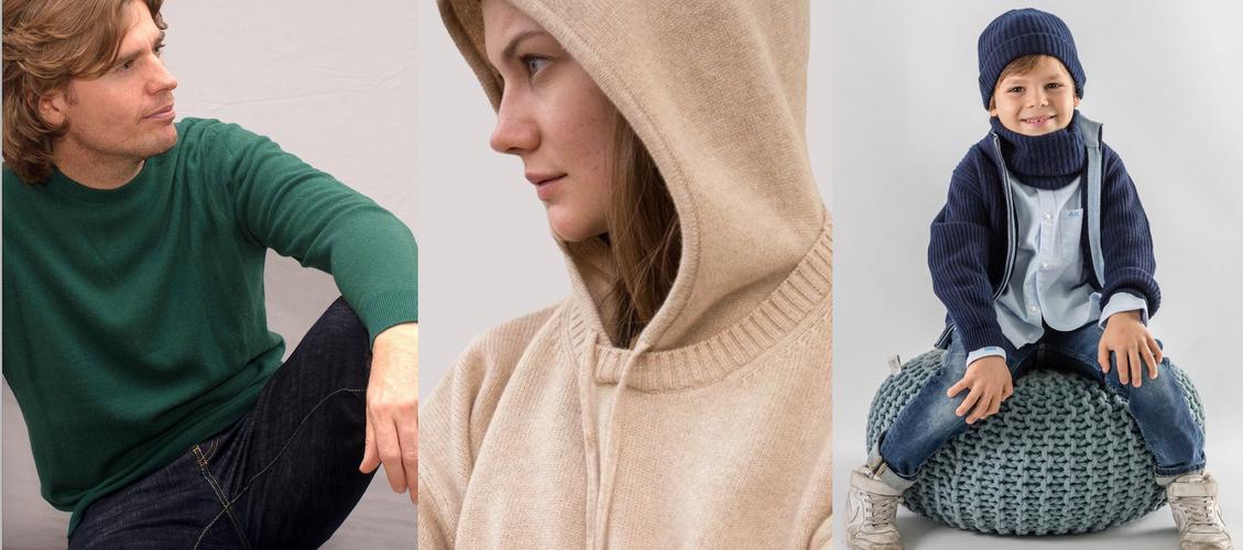 Anna Bess Shop cashmere 100% Uomo Donna e Bambino