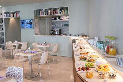 Aromi Piccolo Hotel Sala Colazione a Buffet