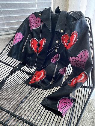 lovergirl motto jacket