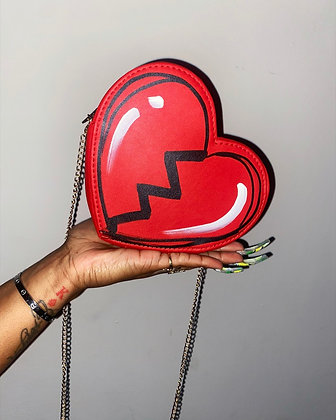 all of me Heart Clutch