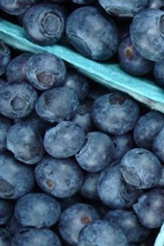 Blueberries per punnet