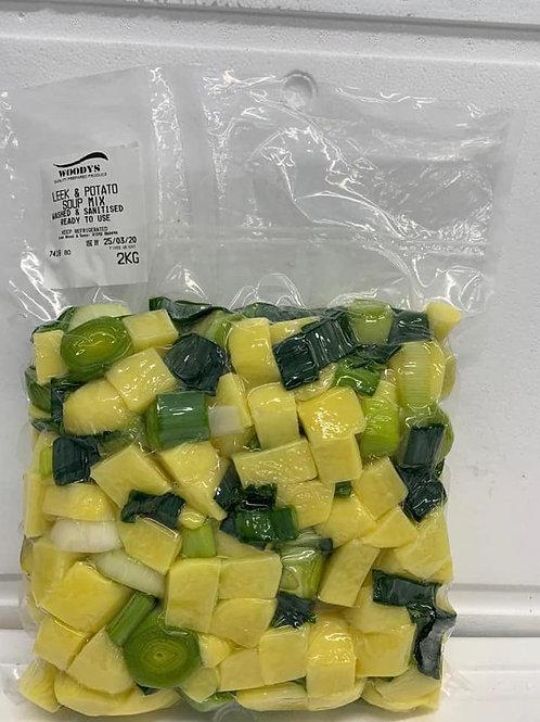 Leek & Potato Soup Mix - 2kg