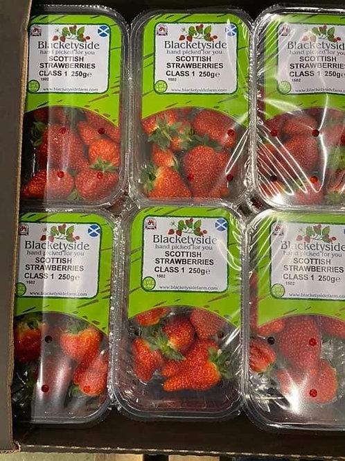 Strawberries (Local Scottish) 300g punnet