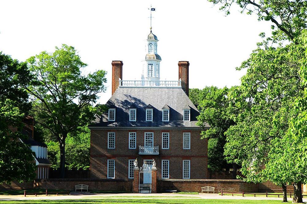 Williamsburg, Virginia Governors Palace