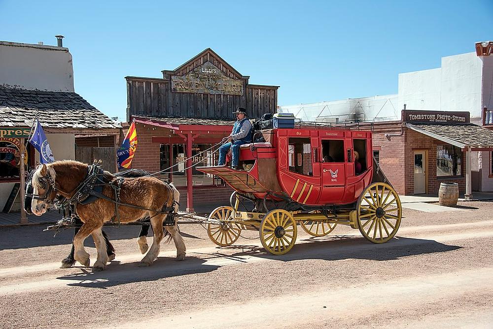 Tombstone, Arizona Mail Coach