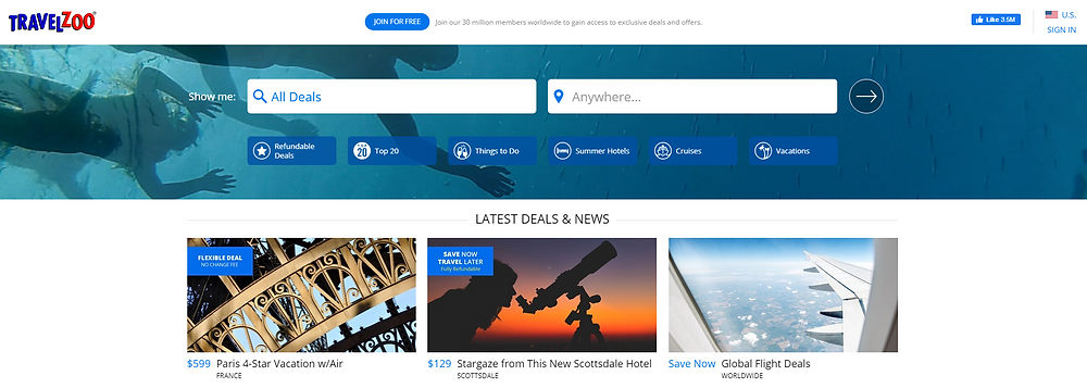 Find The Best Travel Deals with TravelZoo