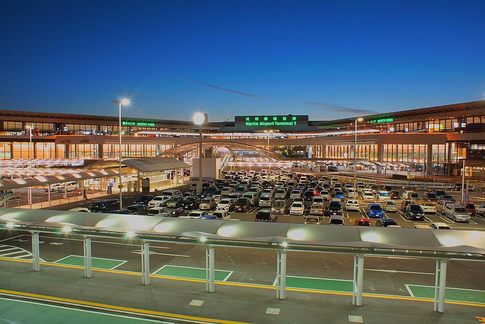 Tokyo-Narita International Airport By Nanashinodensyaku