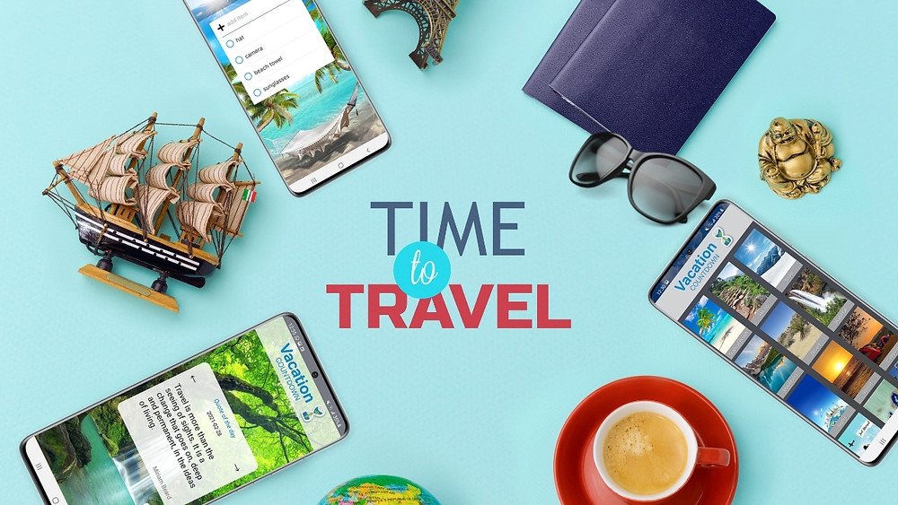 Vacation Countdown App, Best Travel Mobile App